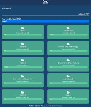 YDS Kelime Pro Ekran Görüntüleri - 9