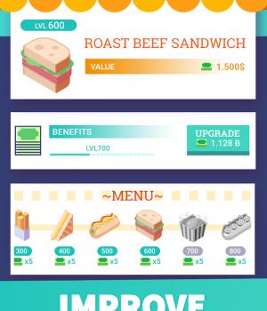 Idle Food Restaurant Ekran Görüntüleri - 3