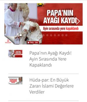 Milli  Gazete Ekran Görüntüleri - 1