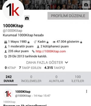1000Kitap Ekran Görüntüleri - 8