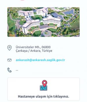 Ankara Şehir Hastanesi Ekran Görüntüleri - 4