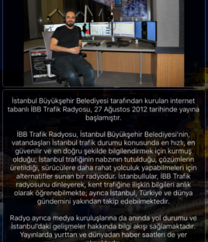 İBB Radyo Ekran Görüntüleri - 5