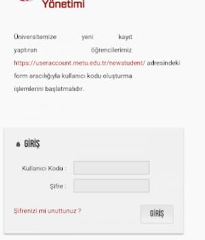 ODTÜ Ekran Görüntüleri - 14
