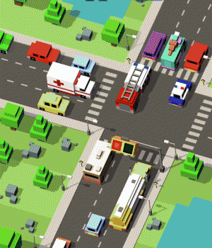 Crossy Crash 1 - 1