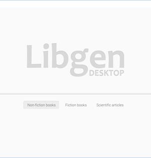 Library Genesis Ekran Görüntüleri - 1