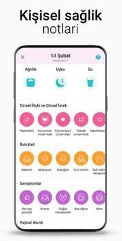 Flo Period & Ovulation Tracker Ekran Görüntüleri - 3