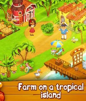 Farm Zoo: Bay Island Village Ekran Görüntüleri - 1