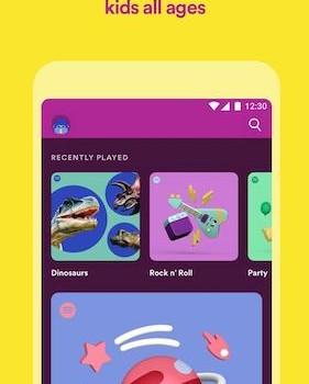 Spotify Kids Ekran Görüntüleri - 1