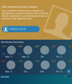 EBA Akademik Destek Ekran Görüntüleri - 2