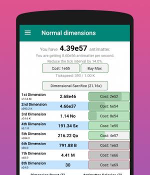 Antimatter Dimensions Ekran Görüntüleri - 3