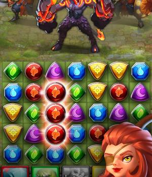 Dragon Strike: Puzzle RPG Ekran Görüntüleri - 2