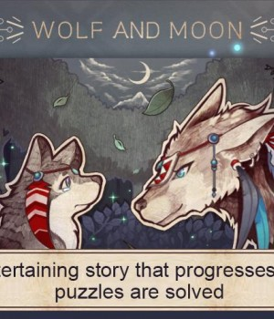 Wolf And Moon Ekran Görüntüleri - 2