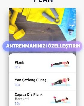 Plank Workout Ekran Görüntüleri - 4