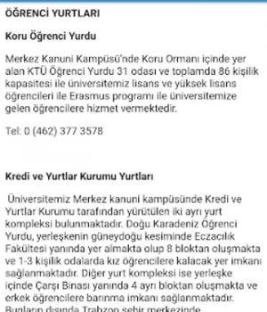 KTÜ Mobil Ekran Görüntüleri - 2