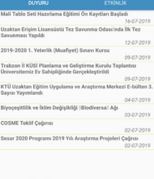 KTÜ Mobil Ekran Görüntüleri - 5