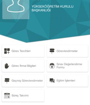 ÖSYM Görevli İşlemleri Sistemi Ekran Görüntüleri - 3