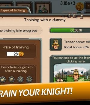Knight Joust Idle Tycoon Ekran Görüntüleri - 1