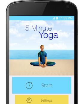 5 Minute Yoga Ekran Görüntüleri - 1