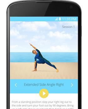 5 Minute Yoga Ekran Görüntüleri - 2