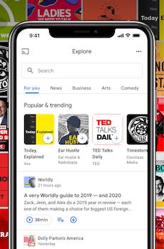 Google Podcasts Ekran Görüntüleri - 2