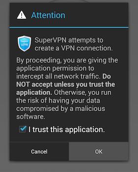 SuperVPN Ekran Görüntüleri - 2