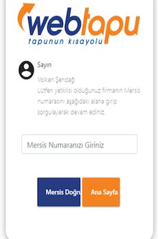 Web Tapu Ekran Görüntüleri - 4