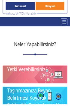 Web Tapu Ekran Görüntüleri - 5