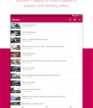 Microsoft Stream Ekran Görüntüleri - 6