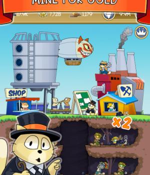 Dig it! Idle Cat Miner Tycoon Ekran Görüntüleri - 6