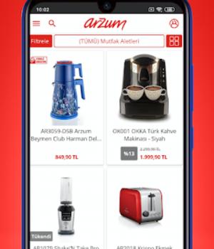 Arzum Online Alışveriş Ekran Görüntüleri - 2
