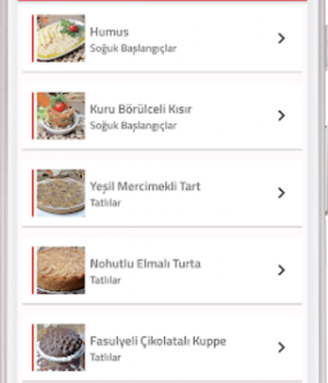 Bakliyatlı Yemek Tarifleri Ekran Görüntüleri - 3