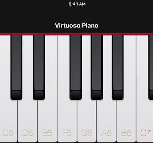 Virtuoso Piano Free 4 Ekran Görüntüleri - 2