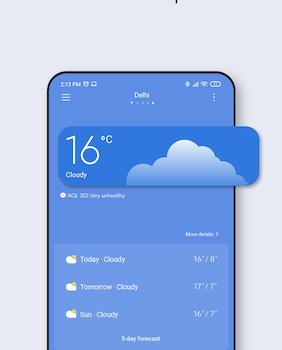 Xiaomi Weather Ekran Görüntüleri - 2