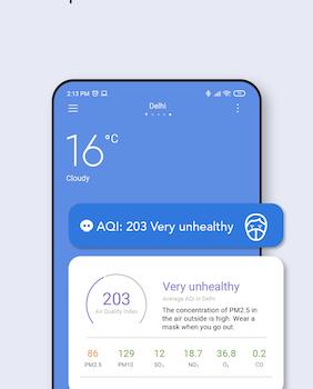 Xiaomi Weather Ekran Görüntüleri - 3