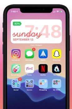 Color Widgets Ekran Görüntüleri - 3