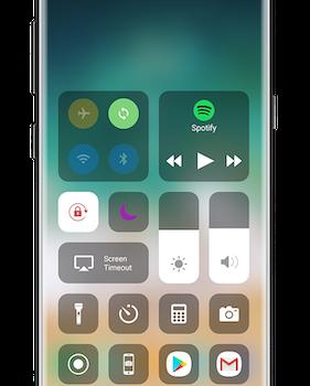 Control Center iOS 14 Ekran Görüntüleri - 1
