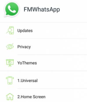 FMWhatsApp Ekran Görüntüleri - 2