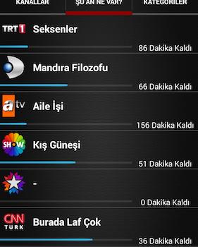 Mobil Canlı Tv Ekran Görüntüleri - 3
