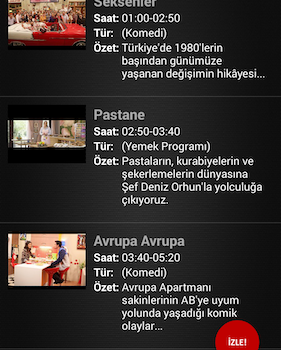 Mobil Canlı Tv Ekran Görüntüleri - 5