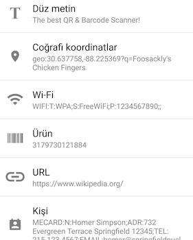 QR & Barcode Scanner Ekran Görüntüleri - 6