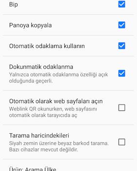 QR & Barcode Scanner Ekran Görüntüleri - 8
