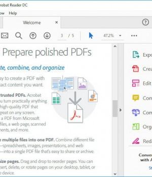 Adobe Acrobat Reader Ekran Görüntüleri - 1