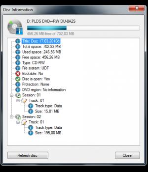 CDBurnerXP Ekran Görüntüleri - 11