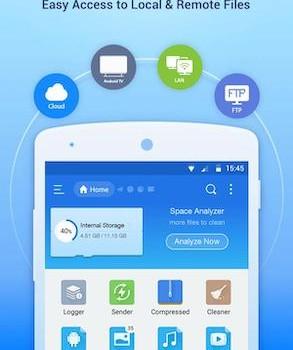 ES File Explorer Ekran Görüntüleri - 1