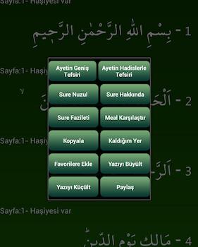 İnternetsiz Kuran-ı Kerim Ekran Görüntüleri - 6