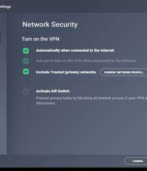 AVG VPN Ekran Görüntüleri - 1