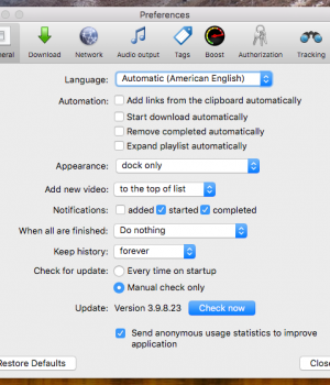 MediaHuman YouTube to MP3 Converter Mac Sürümü Ekran Görüntüleri - 3