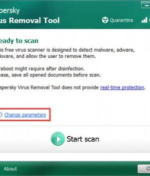 Kaspersky Virus Removal Tool Ekran Görüntüleri - 1