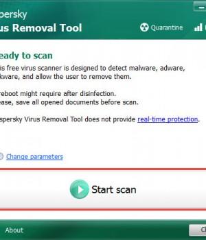 Kaspersky Virus Removal Tool Ekran Görüntüleri - 3
