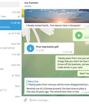 Telegram Messenger Ekran Görüntüleri - 1